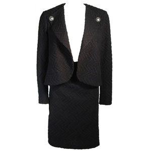 Chanel skirt Suit black